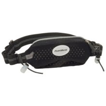 FuelBelt Super Stretch Race Waist Pack in Black - Closeouts