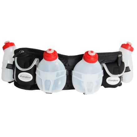 FuelBelt Trail Runner Hydration Belt in Black - Closeouts