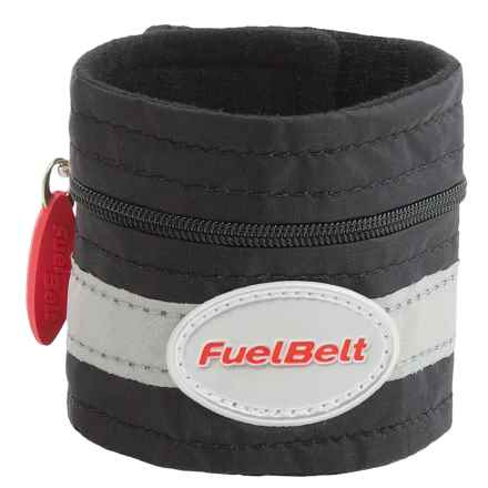 FuelBelt Wrist Pocket in Black - Closeouts