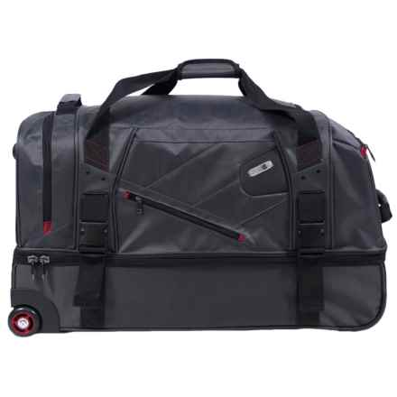 Ful 110L Tour Manager Deluxe Split Rolling Duffel Bag in Grey - Closeouts
