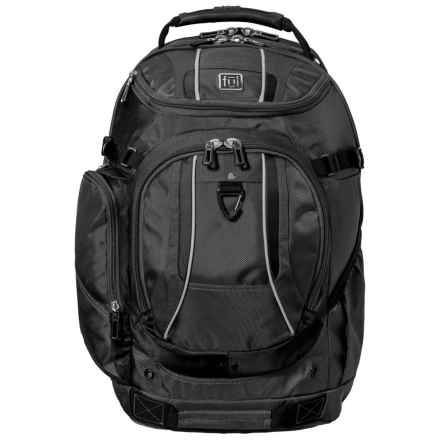Ful 25L Load Factor Padded Laptop Backpack in Black/Grey - Closeouts
