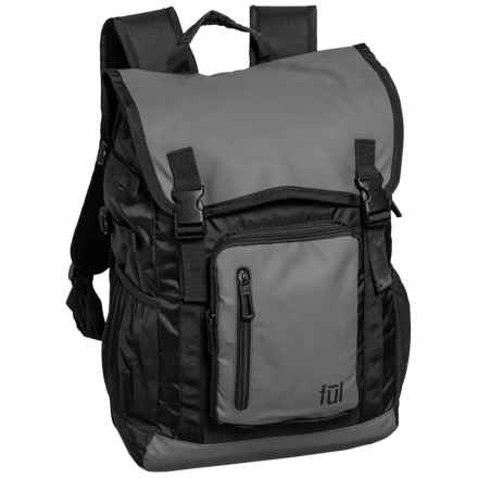 Ful Alpha Backpack in Grey - Closeouts