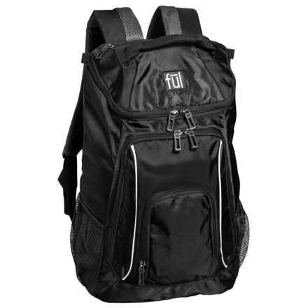 Ful Edrik Backpack in Black - Closeouts