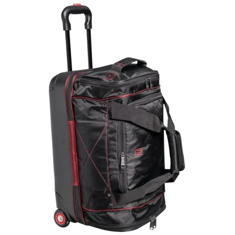 Ful FLX Mini Hybrid Rolling Duffel Bag in Black