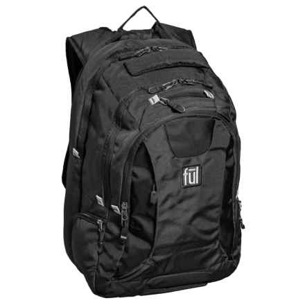 Ful Navigator Backpack in Black - Closeouts