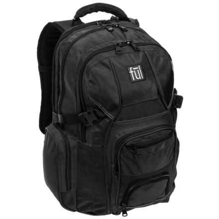 Ful Tennman 32l Backpack In Black Closeouts