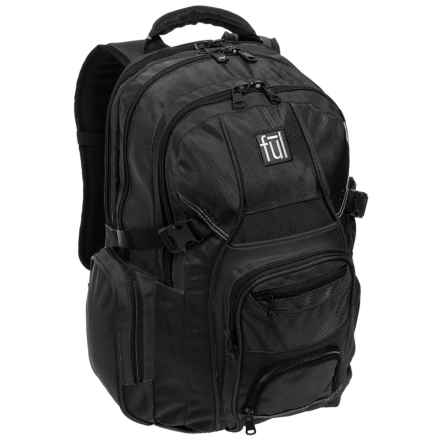 Ful Tennman 32L Backpack in Black - Closeouts