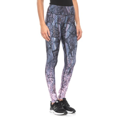 Image of Full Gradient Printed Leggings (For Women)