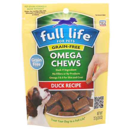 Full Life Omega Duck Dog Treat Chews - 2.6 oz. in See Photo - Closeouts