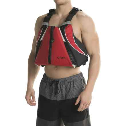 Full Throttle Onyx Type III PFD Life Jacket in Red - Closeouts
