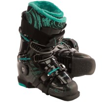 Full Tilt Mary Jane Ski Boots - Five Rib (For Women) in Black - Closeouts
