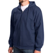 Full-Zip Hoodie (For Men and Women) in Navy - 2nds