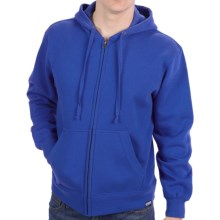 Full-Zip Hoodie (For Men) in Royal - 2nds
