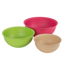 Fuller Brush Company Bamboo Mixing Bowls - Set of 3 in See Photo - Closeouts