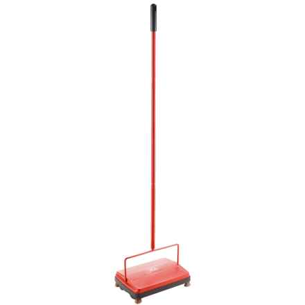 Fuller Brush Company Electrostatic Carpet Sweeper in Red - Closeouts