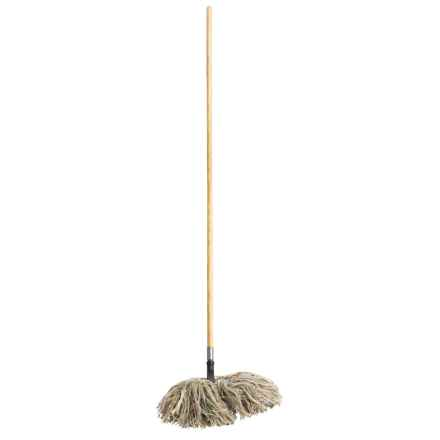 Fuller Brush Company Wooly Bully Dry Mop - Wooden Handle in See Photo - Closeouts