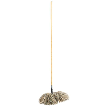 Fuller Brush Wooly Bully Dry Mop - Wooden Handle