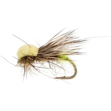 Fulling Mill Balloon Caddis Dry Fly - Dozen in Olive - Closeouts