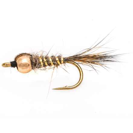 Fulling Mill Hare's Ear Natural Beadhead Nymph Fly - Dozen in Natural - Closeouts