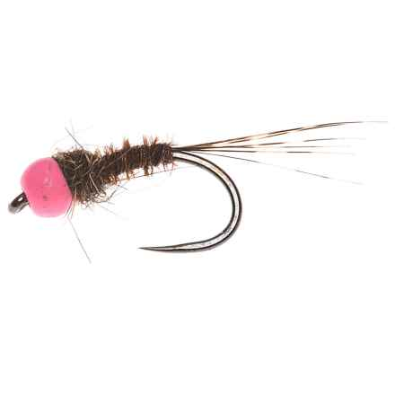 Fulling Mill Pink Head Mary Nymph Fly - Dozen in See Photo - Closeouts