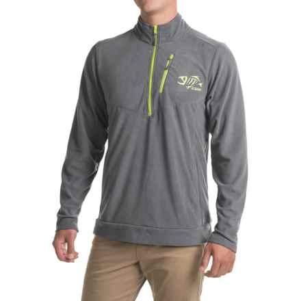 G. Loomis Stormcast Fleece Jacket - Zip Neck (For Men and Big Men) in Charcoal - Closeouts