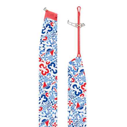 G3 Alpinist Splitboard Climbing Skins - 140mm in Red/Blue - Closeouts