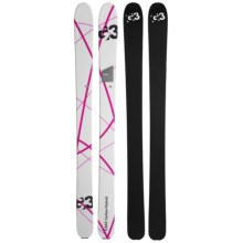 G3 Cake Carbon Hybrid 110 Alpine Skis (For Women) in See Photo - Closeouts