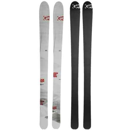 G3 Zenoxide Carbon Fusion 105 Alpine Skis in See Photo - Closeouts