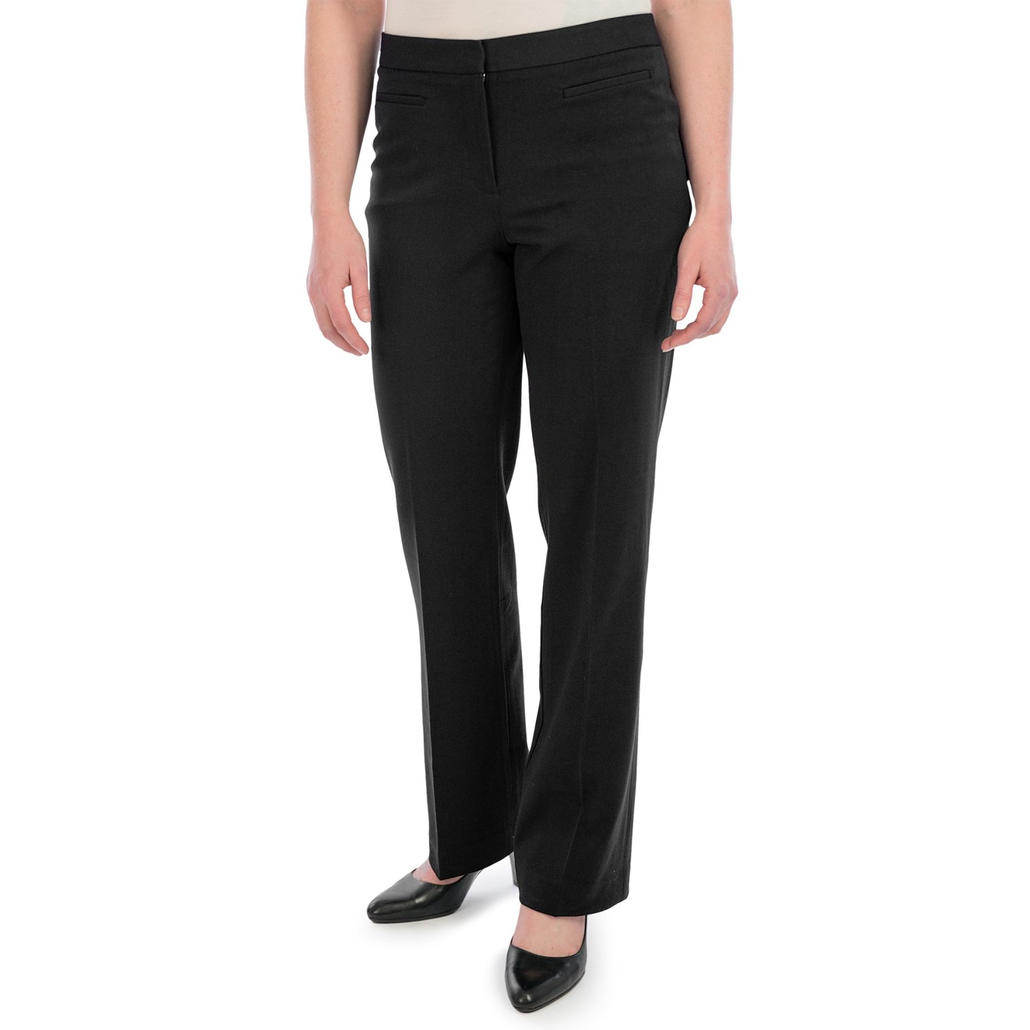 Perfect Worthington ModernFit StraightLeg Pants Petite For Women  Iyshoes