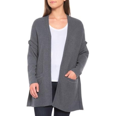 Image of Gabriola Cardigan Sweater - Merino Wool Blend (For Women)