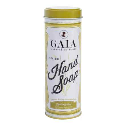 Gaia Natural Cleaners Lemongrass Powder Hand Soap - 6 oz. in Lemongrass - Closeouts