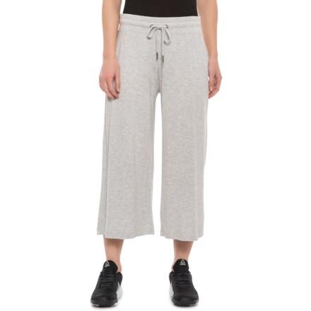 3de3270e94ea0 Gaiam Addy Wide-Leg Culotte Pants (For Women) in Grey Heather