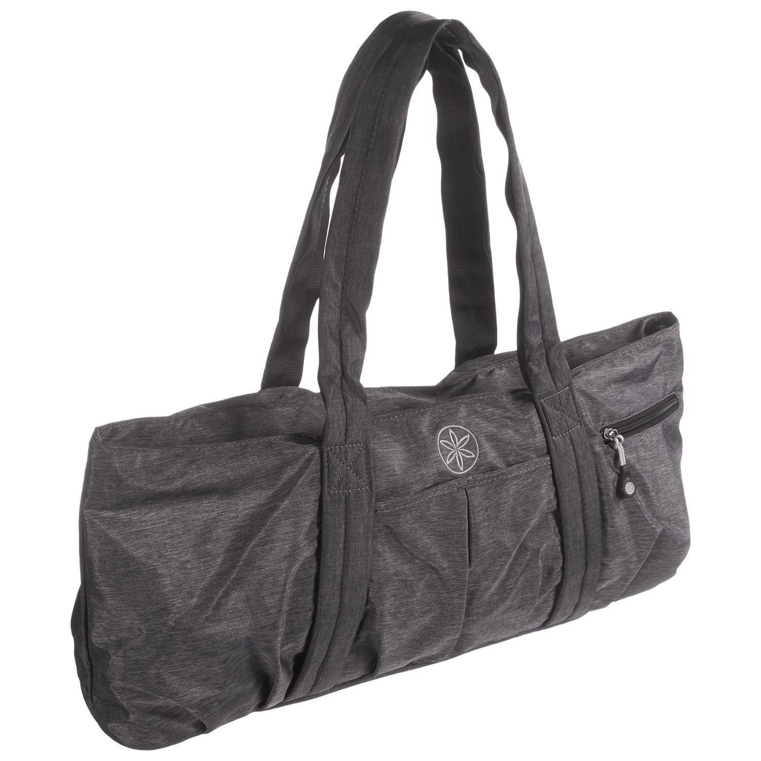 Gaiam All Day Yoga Tote Bag In Grey