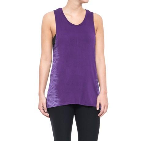 Gaiam Ana Tie-Dye Graphic Tank Top (For Women) in Acai