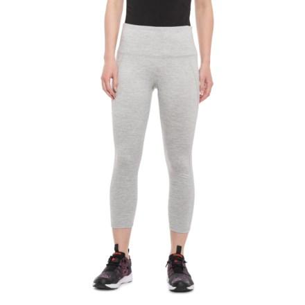 36594e5bda67c Gaiam Athena High-Rise Yoga Capris (For Women) in Grey Heather