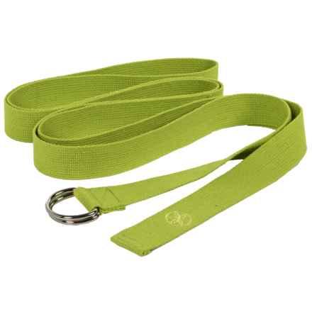 Gaiam Athletic Maxstrap Yoga Strap - 10' in Green - Overstock