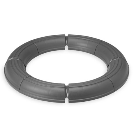 Gaiam Balance Ball Stability Ring in Grey