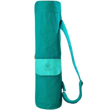 Gaiam Cargo Yoga Mat Bag in Turquoise Sea Amz - Closeouts