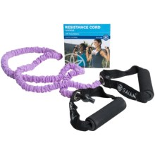 Gaiam Covered Resistance Cord Kit - Light Resistance in Assorted - Closeouts
