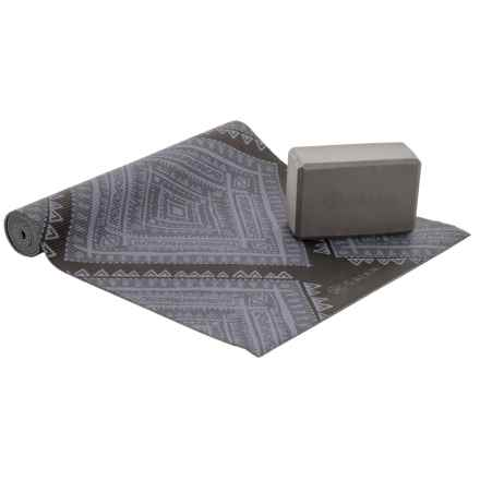 Gaiam Cushion Support Yoga Kit - 2-Piece in Granite Point - Closeouts