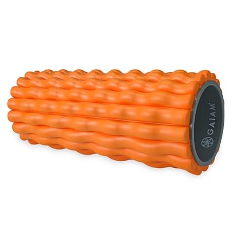 "Gaiam Deep Tissue Foam Roller - 13"" in Orange"