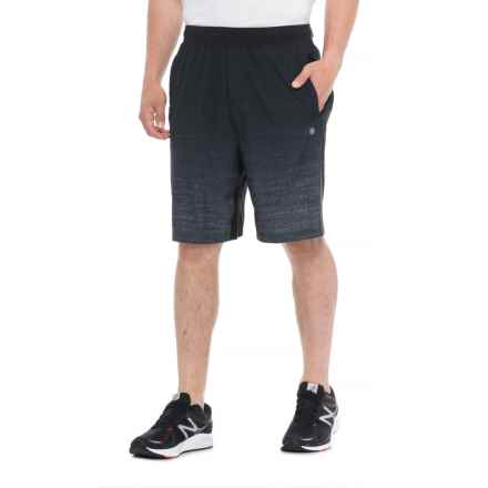 Gaiam Element Gradient Woven Shorts (For Men) in Black - Closeouts