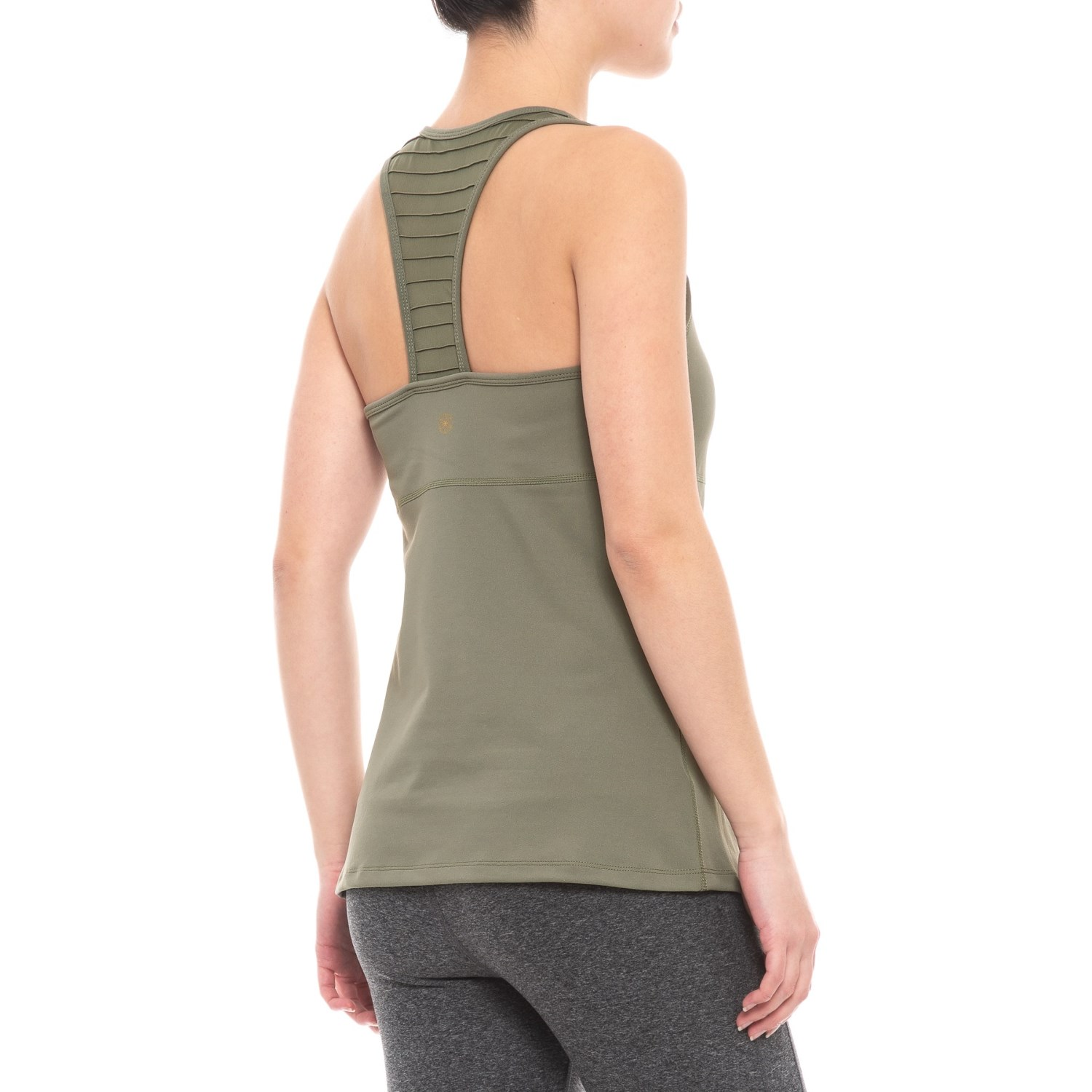 5e0b7f9db0091 Gaiam Emila Pintuck Mesh Tank Top - Shelf Bra (For Women)