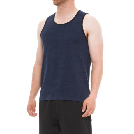 Gaiam Everyday Shirt - Sleeveless (For Men) in Navy Heather