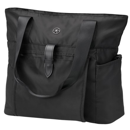 "ab64982f05 Gaiam Everyday Yoga Tote - 13x16x5"" in Black - Closeouts"