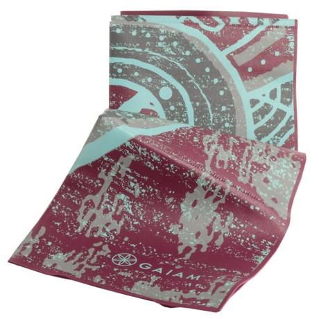 Gaiam Foldable Yoga Mat - 2mm in Be Free