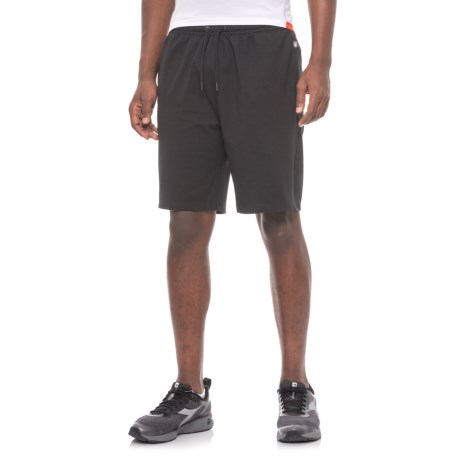 Gaiam Foundation Fleece Shorts (For Men) in Black