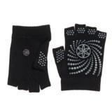 Gaiam Grippy Fingerless Yoga Gloves
