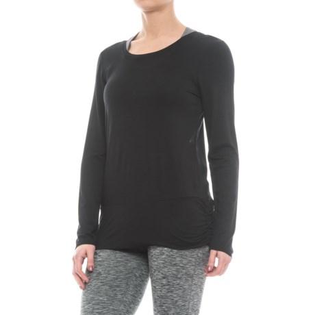 Gaiam Hannah Shirt - Long Sleeve (For Women) in Black