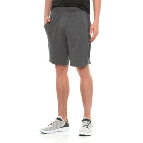 Gaiam Inversion Shorts (For Men) in Ebony Heather
